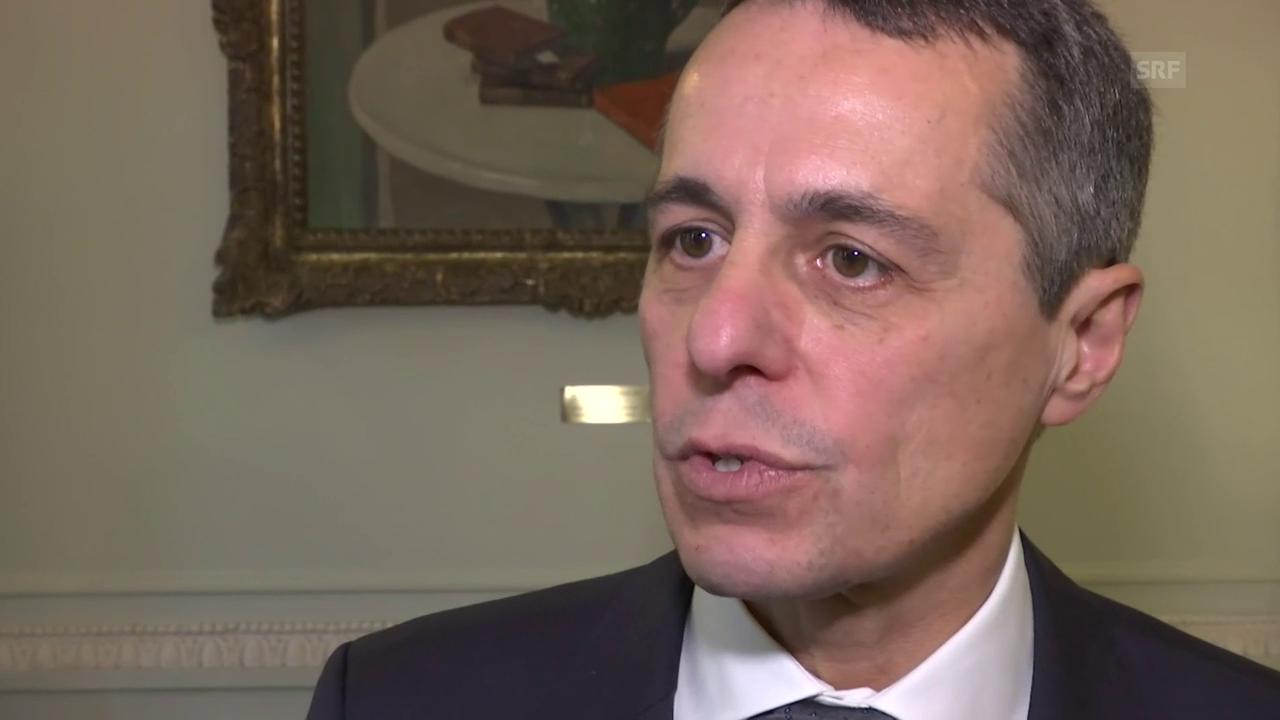 Bundesrat Cassis kritisiert Kehrtwende der EU