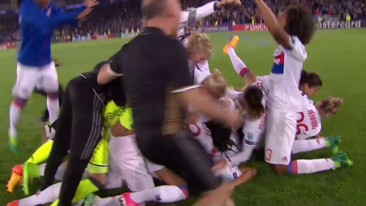 Lyons Frauen gewinnen in extremis die Champions League