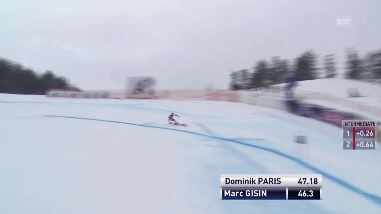 Ski: Sturz von Marc Gisin