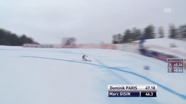 Video «Ski: Sturz von Marc Gisin» abspielen