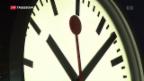 Video «Bundesrat fordert Entschädigung bei Verspätungen» abspielen