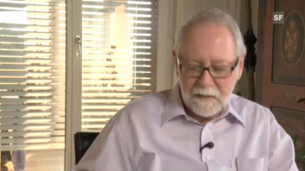 Video «Dennis Turner: «Menschen projizieren ihre Gefühle in Tiere.»» abspielen