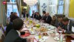 Video «Von-Wattenwyl-Gespräche im Zeichen der Abstimmung» abspielen
