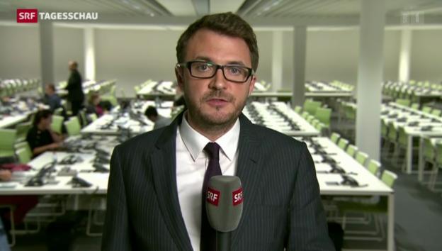 Video «Sebastian Ramspeck zum EU-Innenminister-Treffen» abspielen