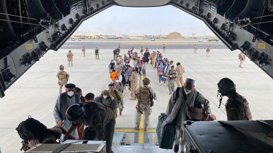 Spanien agiert als wichtiger Partner bei Evakuierungsflügen
