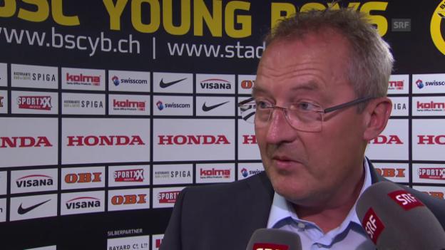 Video «Fussball: Interview mit Fredy Bickel» abspielen