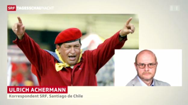 Video «Zum Tod von Hugo Chavez» abspielen