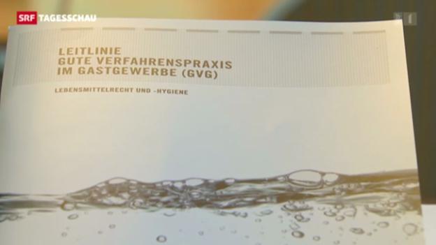 Video «Neue Hygiene-Bibel für die Gastronomie» abspielen