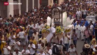 Video «Papst Franziskus in Kuba» abspielen