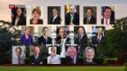 Video «Kandidaten der Demokraten für die US-Präsidentschaftswahl 2020» abspielen
