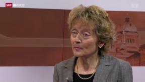 Video «Eveline Widmer-Schlumpf im Interview» abspielen