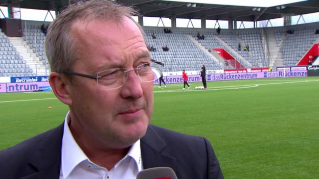 Video «Fussball: Interview mit Fredy Bickel zum Kinder-Handel im Fussballgeschäft» abspielen