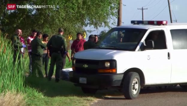 Video «USA: Neue Massnahmen gegen illegale Einwanderer» abspielen