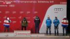 Video «Gespräch mit Bernhard Russi und Siegerehrung» abspielen