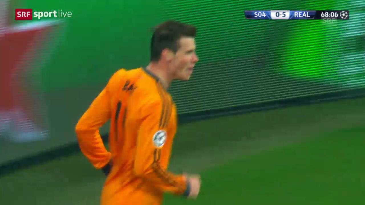 Real-Schalke 1:6: Alle Tore