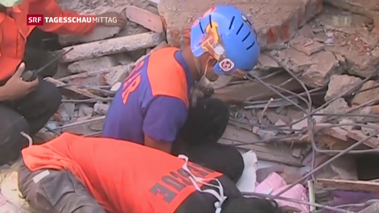 Grosse Schäden nach Beben