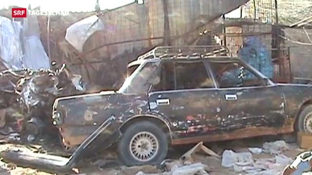 Der Irak im Bombenterror