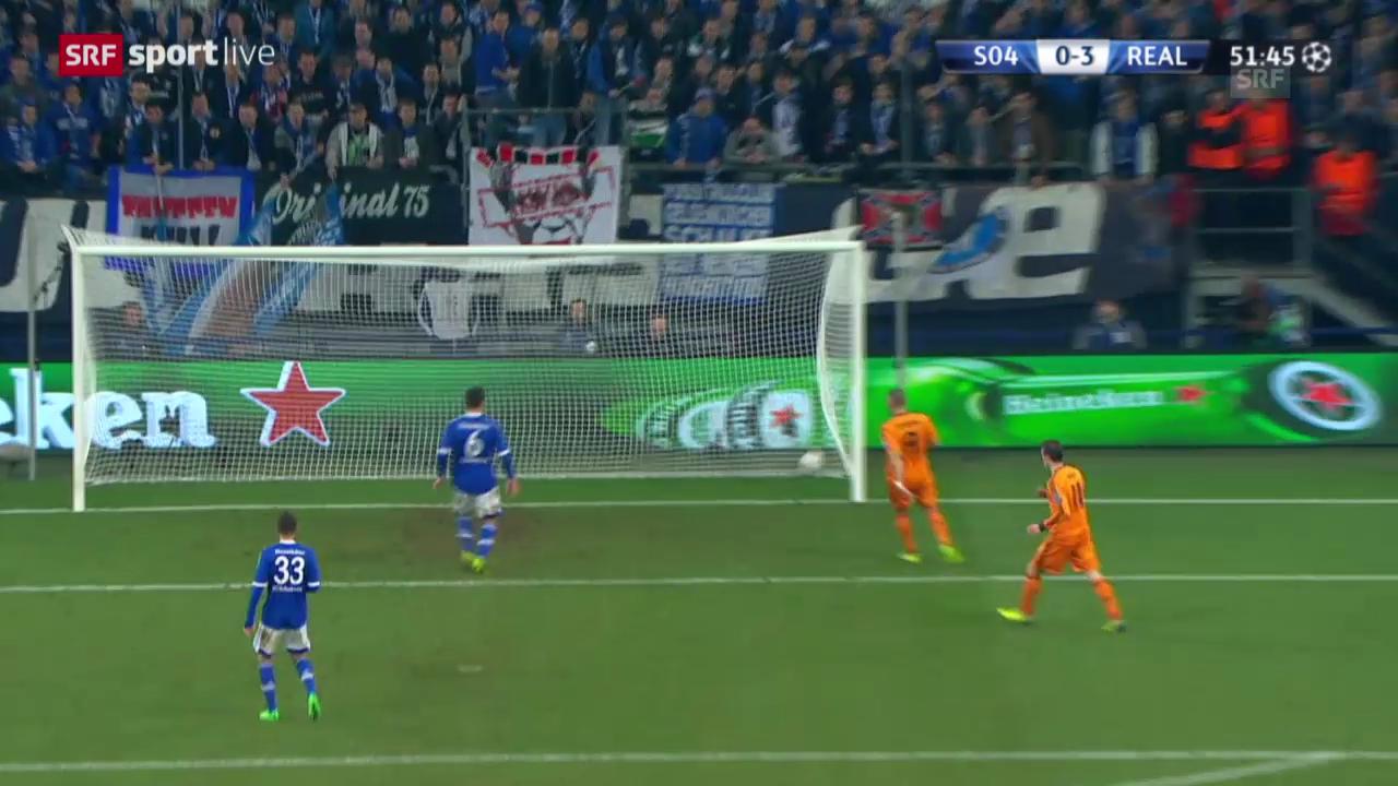 Fussball: Champions League, Schalke - Real Madrid («sportlive», 26.02.2014)