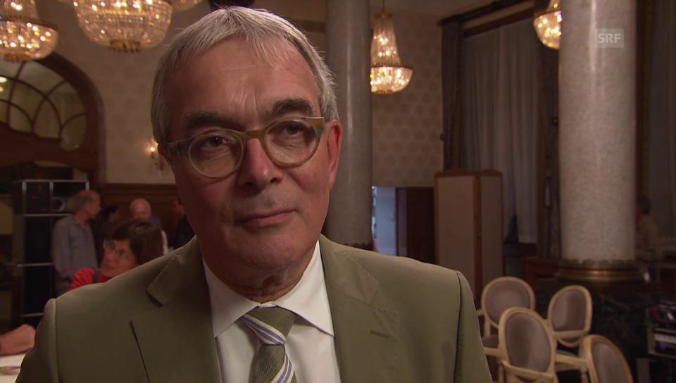 Christoph Brutschin, Direktor für Wirtschaft, Soziales und Umwelt