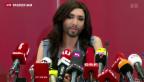 Video «Conchita Wurst holt den ESC nach Österreich» abspielen