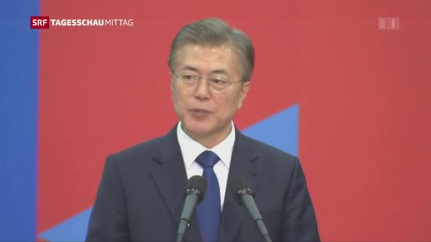 Video «Südkoreas Hoffnungsträger» abspielen
