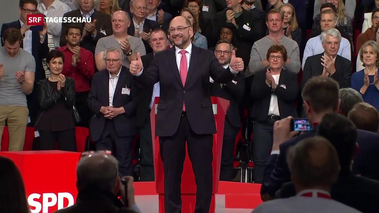 Schulz ist der Mann der Stunde