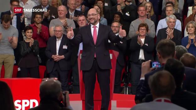 Video «Schulz ist der Mann der Stunde» abspielen