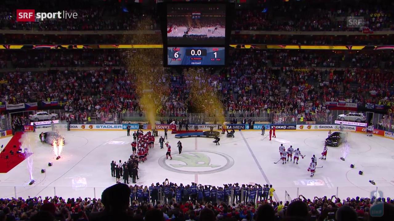 Eishockey: WM, Zeremonie Final