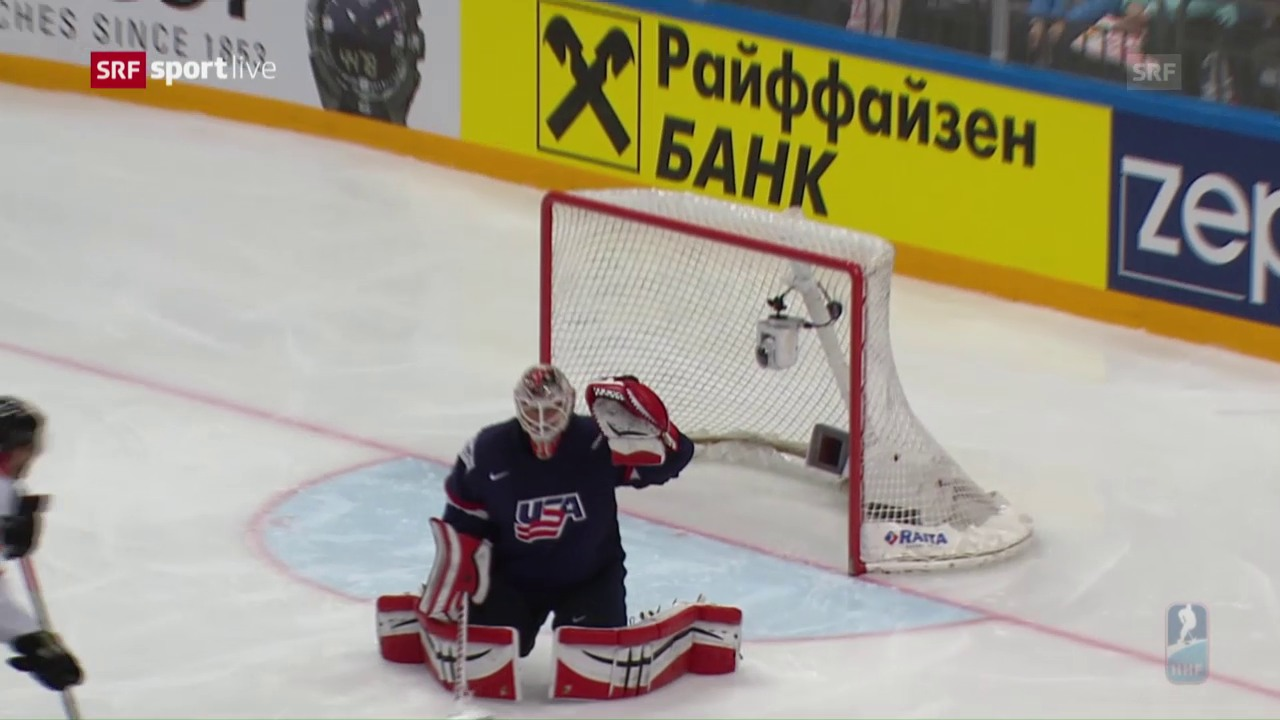 WM-Halbfinal USA - Kanada: Die Tore