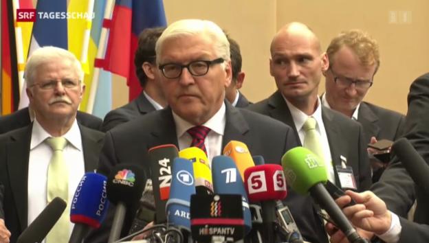 Video «Krisengespräche in Berlin» abspielen