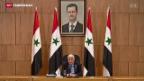 Video «Syrien-Friedensgespräche wieder auf der Kippe» abspielen