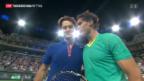 Video «Federer gegen Nadal chancenlos» abspielen
