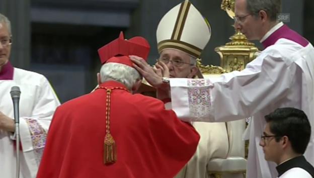 Video «Die Zeremonie im Petersdom (unkomm.)» abspielen