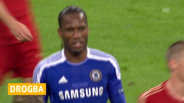 Video «Fussball: Didier Drogba zu Chelsea» abspielen