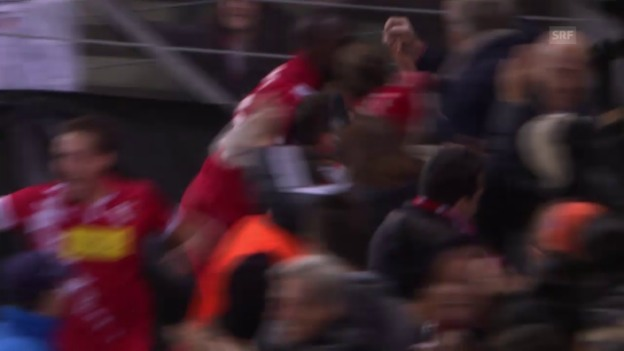 Video «Fussball: Europa League, Sion - Bordeaux Tor Salatic» abspielen