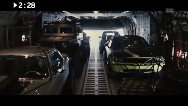 Video «Keine 3 Minuten: «Furious 7»» abspielen