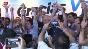 Video «Politische Kehrtwende in Venezuela» abspielen