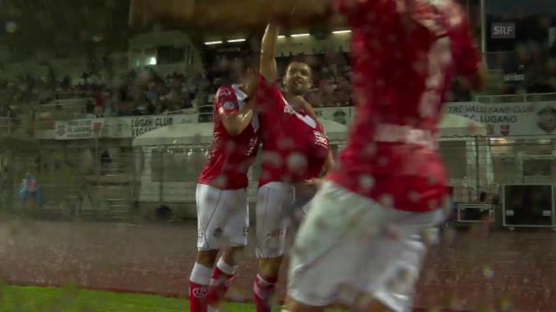 Video «Das 1:0 durch Mihajlovic» abspielen