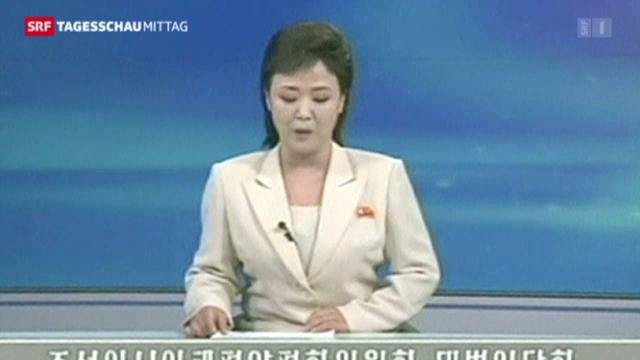 Nordkorea rät Ausländern in Südkorea zur Abreise