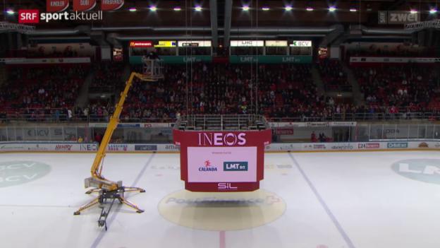 Video «Eishockey: Lausanne-Genf» abspielen