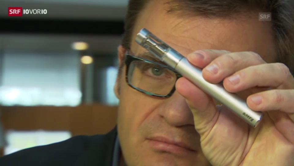 Der Streit um die E-Zigarette (10vor10, 28.11.2013)