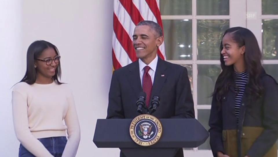 Obama begnadigt Truthähne