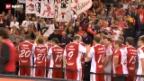 Video «Unihockey: Schweiz holt WM-Bronze» abspielen