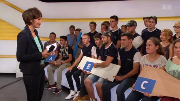 Video «Final «Schweizer Jugend testet»: Abstimmungs-Resultat» abspielen
