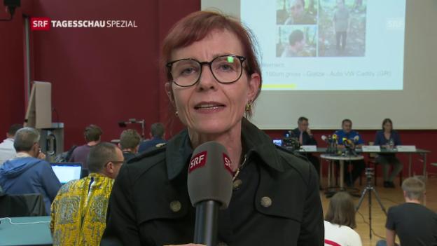 Video «SRF-Korrespondentin: «Experten vermuten psychische Erkrankung»» abspielen