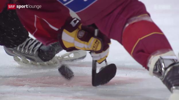 Video ««Tscheggsch de Pögg» – wie wird man «Hockey-Schweizer»?» abspielen