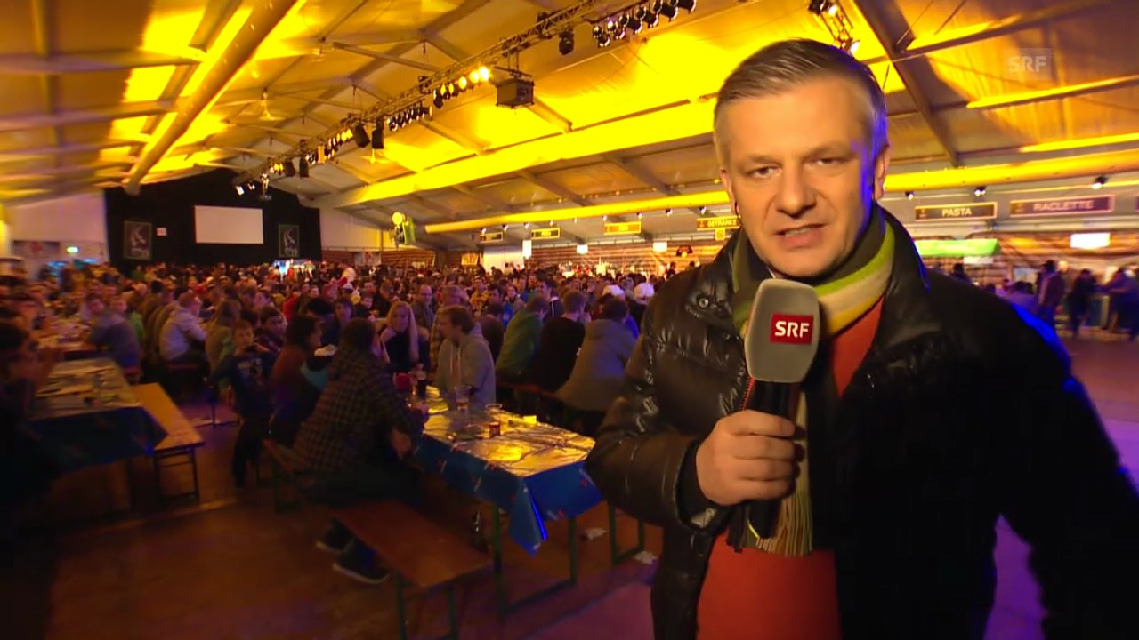 Eishockey: Spengler Cup, «Achtung, fertig, Salzi» («sportlive», 29.12.2013)