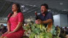 Link öffnet eine Lightbox. Video Oper «L'Elisir d'Amore» am Flughafen Malpensa abspielen