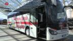 Video «FOKUS: Die DB macht den SBB mit Bussen Konkurrenz» abspielen