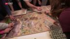 Video «Puzzlefieber in Neuenegg» abspielen